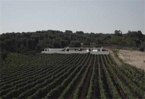 Corsaro Architetti progetto Casa Bellavista