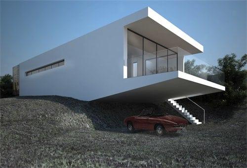 Corsaro Architetti progetto Casa Robe