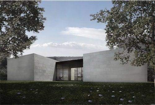 Corsaro Architetti progetto Casa San Benedetto
