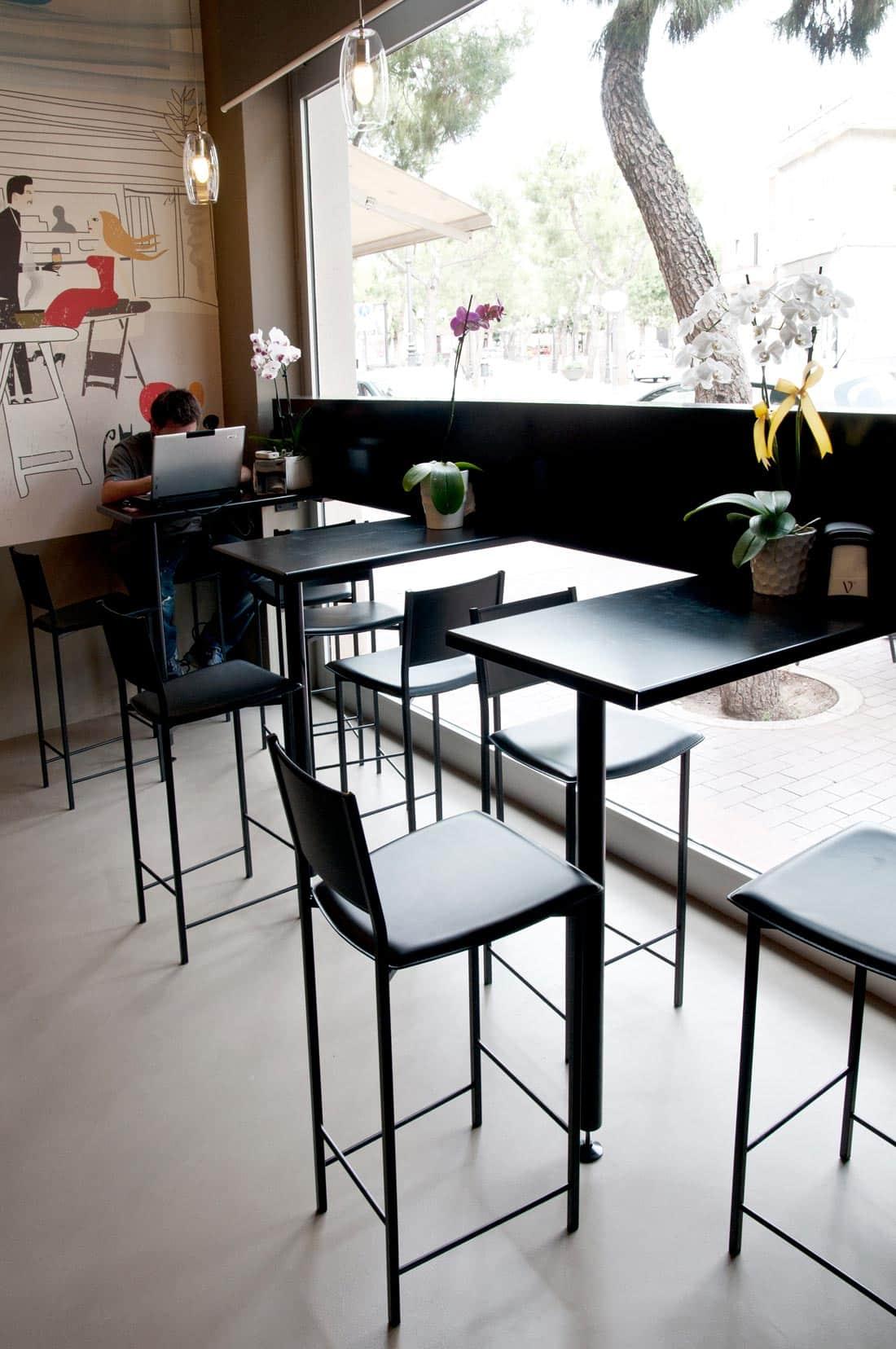 Corsaro Architetti progetto Bar Marangi 06