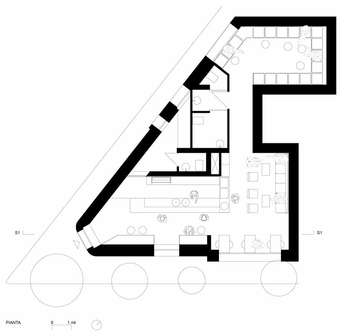 Corsaro Architetti progetto Bar Marangi 08