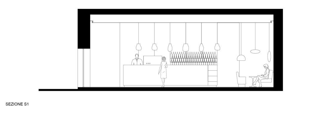 Corsaro Architetti progetto Bar Marangi 09