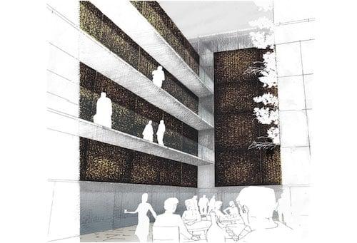 Corsaro Architetti progetto Hotel San Gaetano