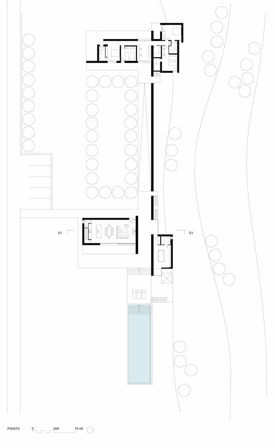 Corsaro Architetti progetto Casa Ceno 12