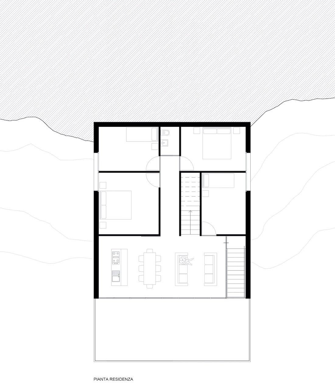 Corsaro Anchitetti progetto Casa Cicerali 09