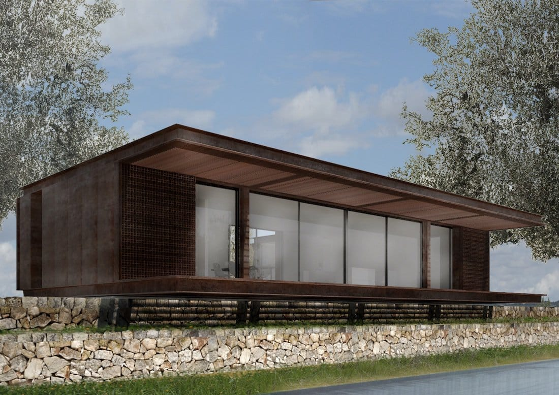 Corsaro Architetti progetto Casa Cinera 02