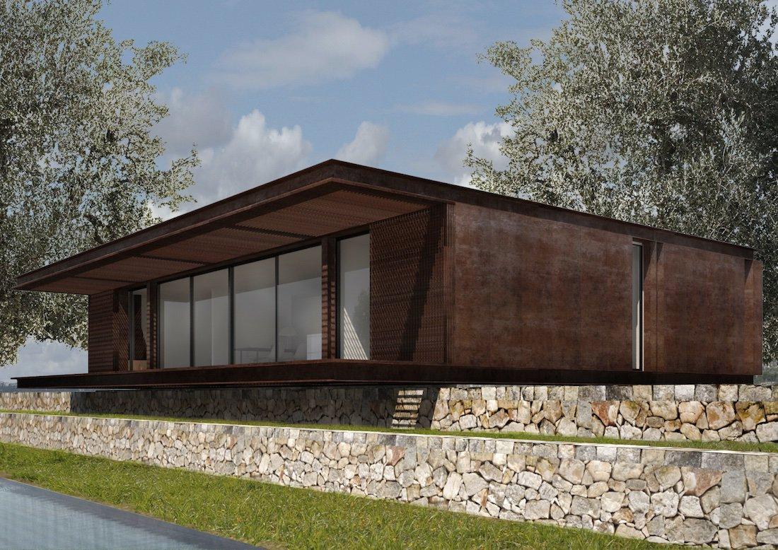 Corsaro Architetti progetto Casa Cinera 03