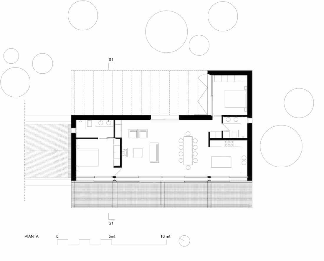 Corsaro Architetti progetto Casa Cinera 06