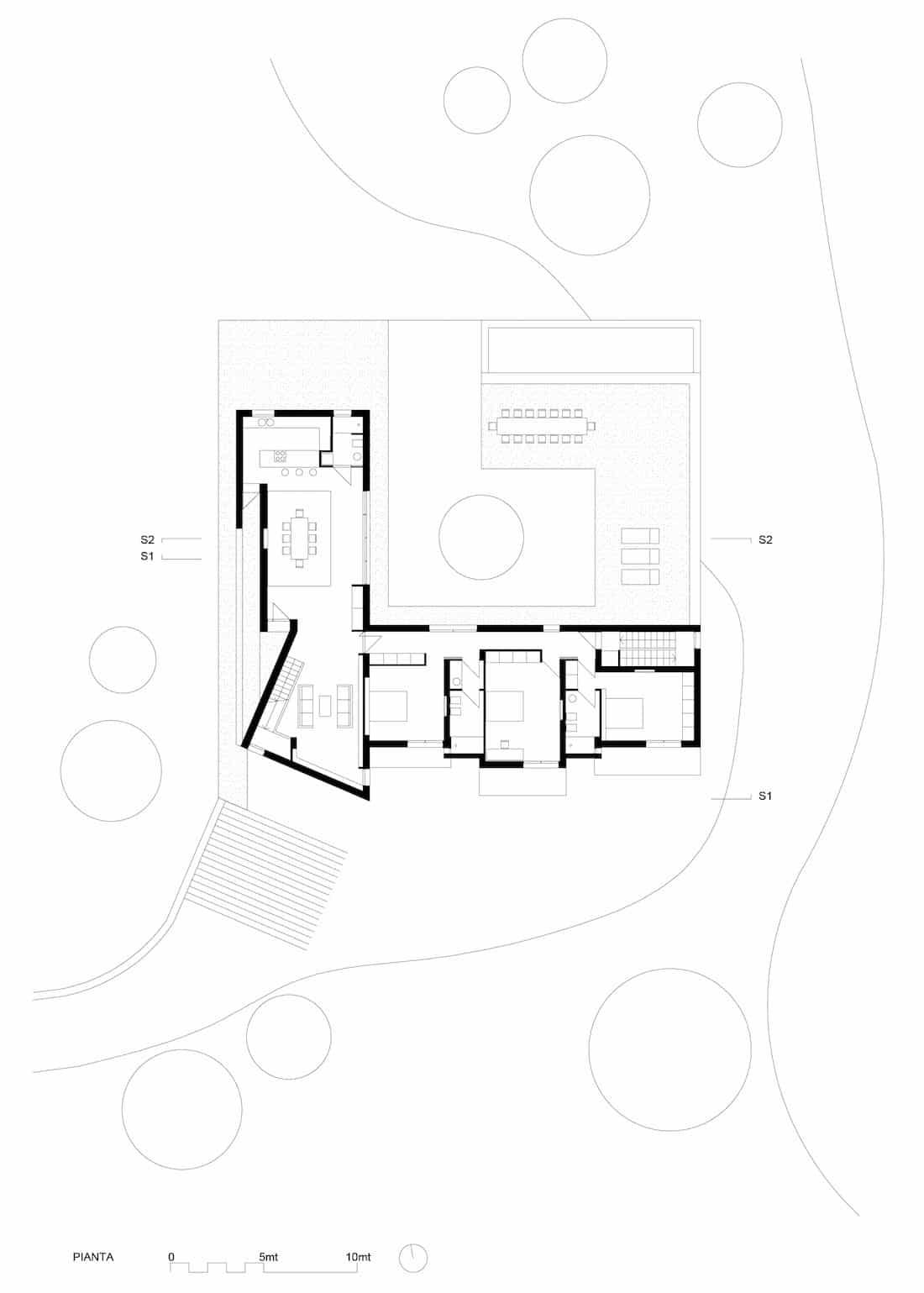 Corsaro Architetti progetto Casa De Nittis 12
