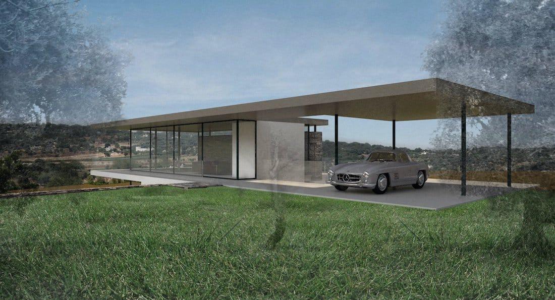 Corsaro Architetti progetto Casa Rebecca 01