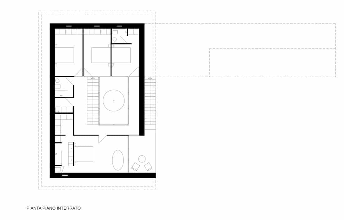 Corsaro Architetti progetto Casa San Benedetto 05