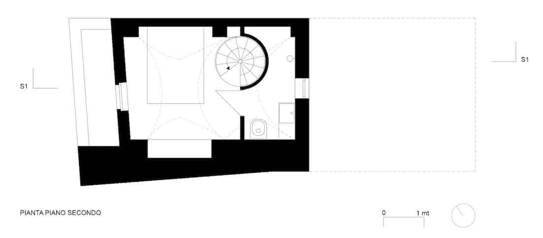 Corsaro Architetti progetto Casa Via Tarantini 12
