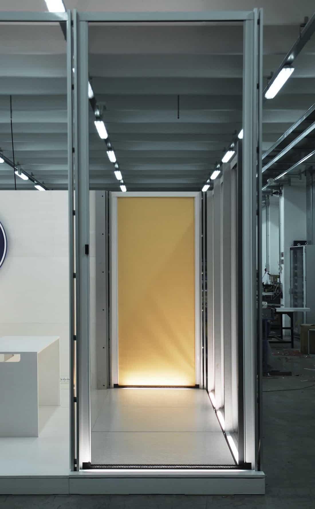 Corsaro Architetti progetto Padiglione fiera 06