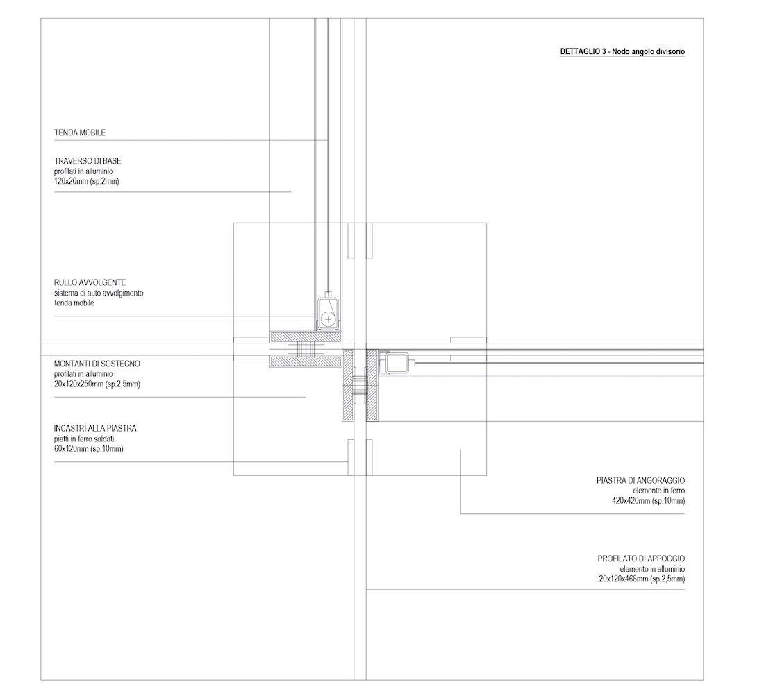 Corsaro Architetti progetto Padiglione fiera 14