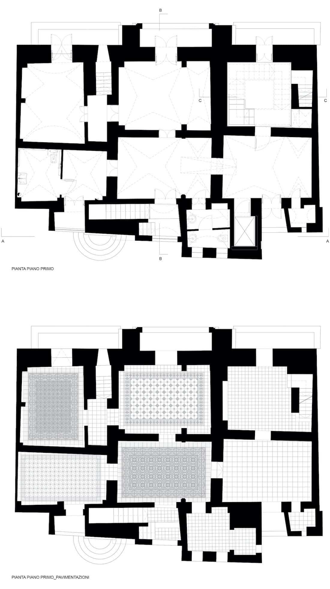 Corsaro Architetti progetto Palazzo Lagravinese 10
