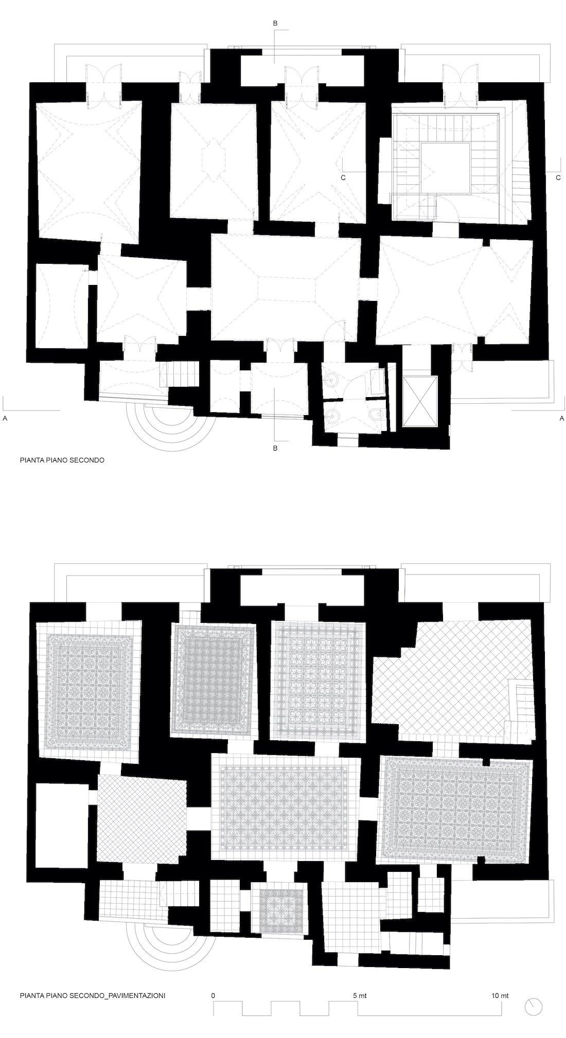 Corsaro Architetti progetto Palazzo Lagravinese 11