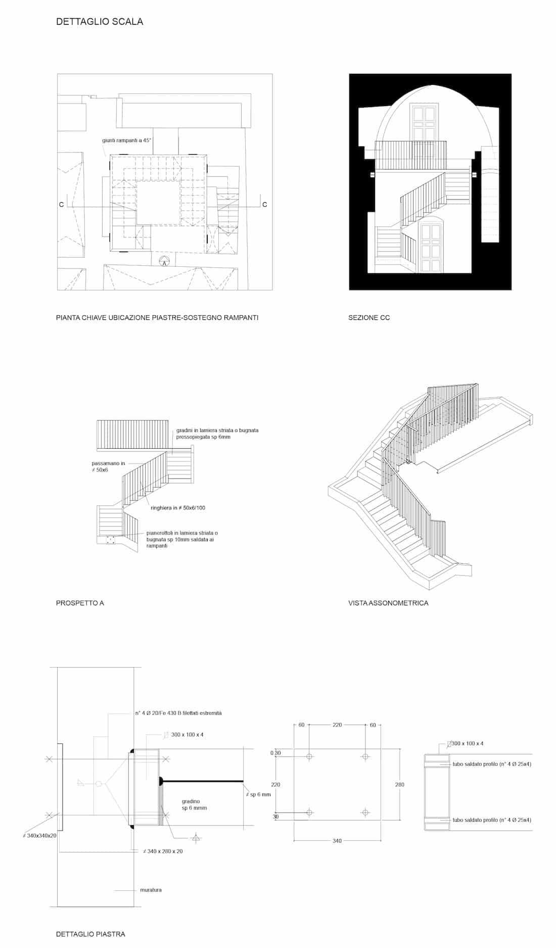 Corsaro Architetti progetto Palazzo Lagravinese 14