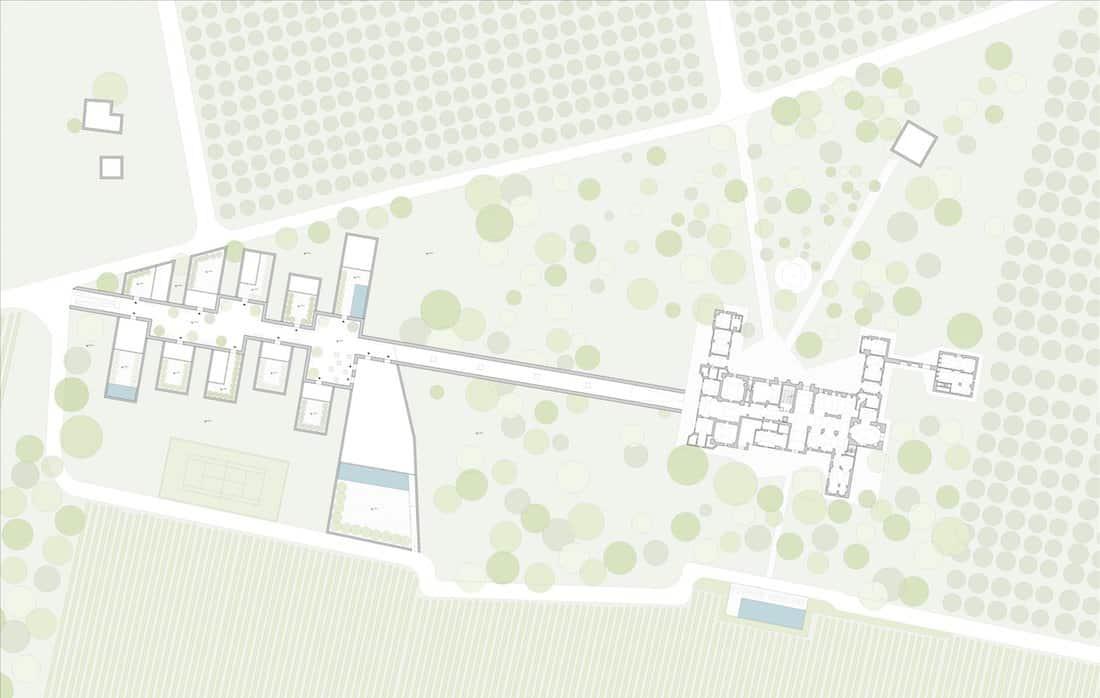 Corsaro Architetti progetto Villa Martini-Carissimo 19